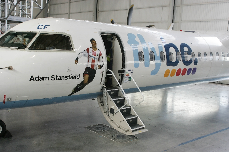Flybe Adam Stansfield Plane